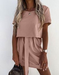 Фустан - код 6737 - пудра