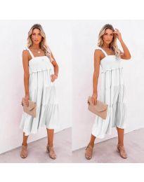 Фустан - код 7791 - бело