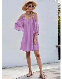 Фустан - код 3022 - виолетова