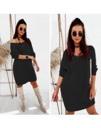 Фустан - код 6457 - црна