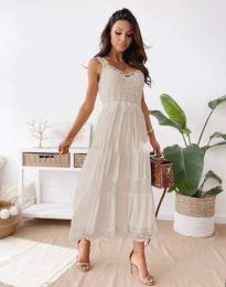 Фустан - код 4672 - кремова