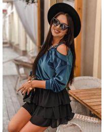 Блуза - код 280 - тиркизна