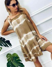 Фустан - код 6426 - 2 - кремова