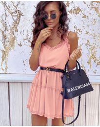 Фустан - код 7758 - розова
