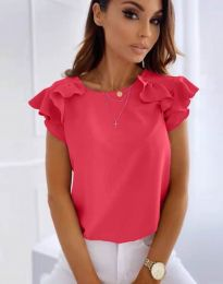Блуза - код 3299 - циклама