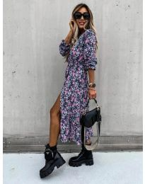 Фустан - код 2745 - шарена