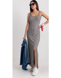 Фустан - код 3000 - сиво