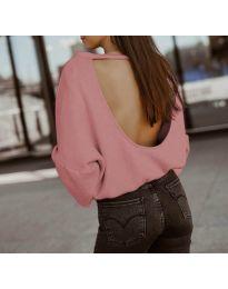 Блуза - код 2666 - розова