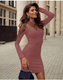 Фустан - код 2484 - пудра