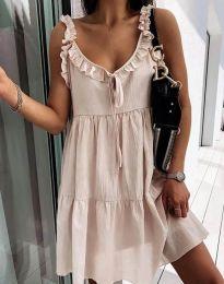 Фустан - код 2540 - кремова
