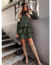 Фустан - код 2951 - путер зелена