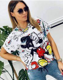 Свободна дамска тениска с анимация - код 0609 - 3