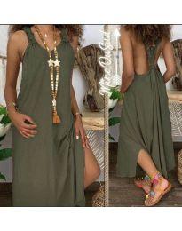 Фустан - код 9597 - путер зелена
