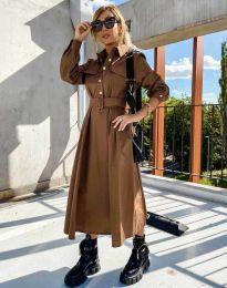 Фустан - код 1467 - кафеава