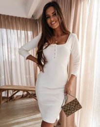 Фустан - код 1700 - бело
