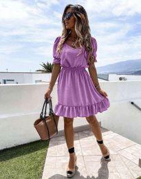 Фустан - код 6460 - виолетова