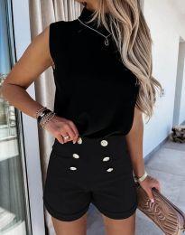 Кратки панталони - код 6815 - црна