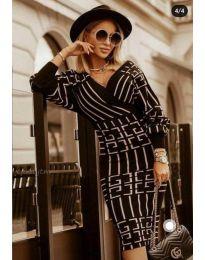 Фустан - код 4441 - 2 - црна