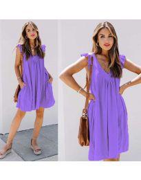 Фустан - код 5090 - виолетова