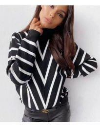 Блуза - код 1060 - црна
