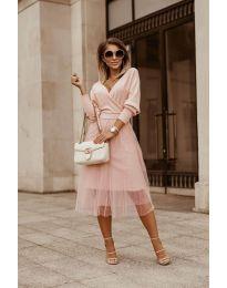 Фустан - код 9994 - розова