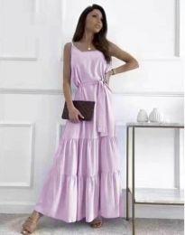 Фустан - код 2578 - виолетова