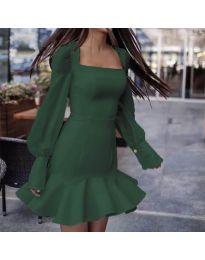 Фустан - код 3605 - путер зелена