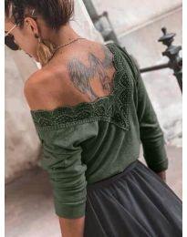 Блуза - код 188 - путер зелена