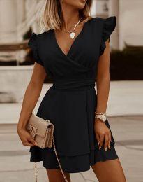 Фустан - код 5654 - црна