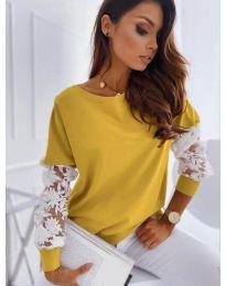 Блуза - код 4426 - окер