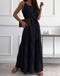 Фустан - код 2578 - црна