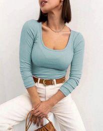 Блуза - код 11662 - ментол