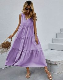Фустан - код 8149 - виолетова
