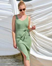 Фустан - код 2722 - зелена
