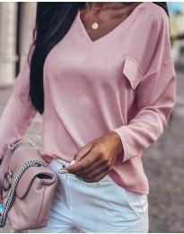 Блуза - код 0802 - розова