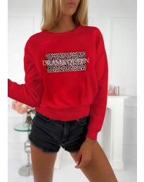 Блуза - код 3994 - црвена