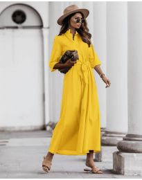 Фустан - код 0900 - жолта