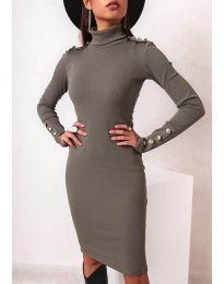 Фустан - код 11513 - путер зелена