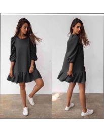 Фустан - код 784 - црна