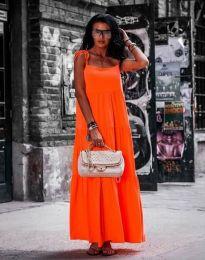 Фустан - код 2301 - 1 - портокалова