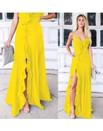 Фустан - код 4488 - жолта