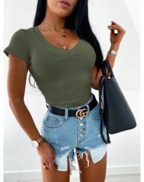 Блуза - код 756 - путер зелена