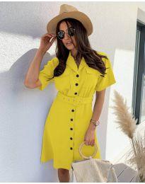 Фустан - код 742 - жолта