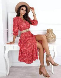 Фустан - код 8234 - шарена