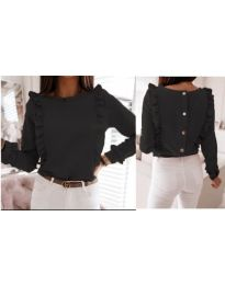 Блуза - код 4171 - црна