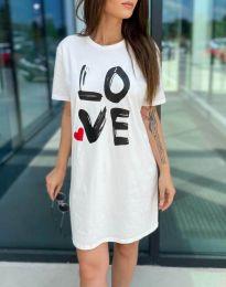 Фустан - код 11887 - бело