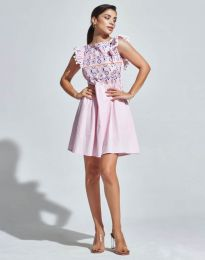 Фустан - код 1482 - 1 - розова