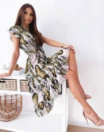 Фустан - код 6747 - шарена