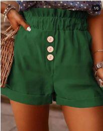 Кратки панталони - код 9383 - путер зелена