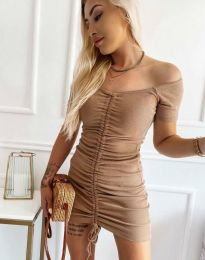 Фустан - код 6590 - капучино